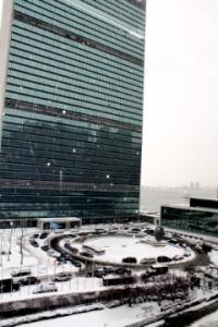 UN in snow 1