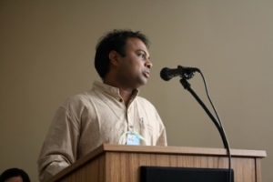 Chaitanya Motupalli spoke about how his mother inspired him to positive models of masculinity.