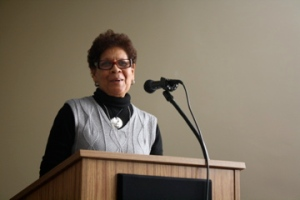 Doreen Boyd spoke about positive masculinities and positive femininities at Ecumenical Women's panel