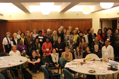 Anglicans with Ecumenical Women at UNCSW58