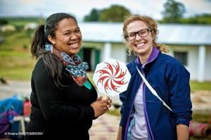 Christina (Right) and Sthela ( Left) Sahambavy, Fianarantsoa, Madagascar
