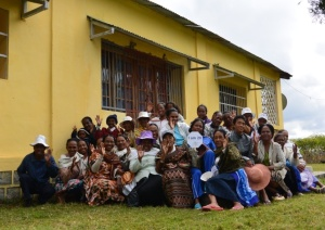 Women Department at Mahamanina Lutheran Church Congregation in Fianarantsoa, Madagascar